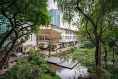Cinturão verde, cidade de Makati Fotos de Stock
