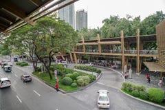 Cinturão verde, cidade de Makati Fotografia de Stock