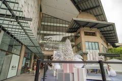 Cinturão verde, cidade de Makati Imagem de Stock
