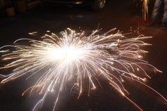 Cinturón de Fuego - Diwali fotos de archivo