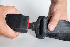 Cinturón de seguridad Fotografía de archivo libre de regalías