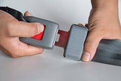 Cinturón de seguridad Fotos de archivo