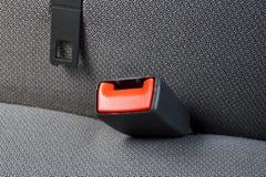 Cinturón de seguridad en un coche Foto de archivo libre de regalías