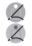 Cintura di sicurezza Immagini Stock
