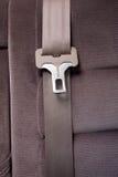 Cintura di sicurezza in automobile immagini stock