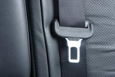 Cintura di sicurezza dell'automobile Fotografia Stock