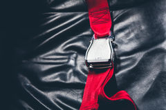 Cintura di sicurezza (effetto d'annata elaborato immagine filtrato fotografia stock