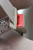 Cintura di sicurezza inarcata. Immagine Stock