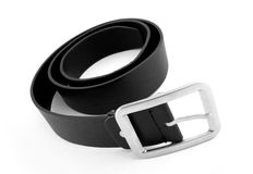 Cintura nera Fotografia Stock