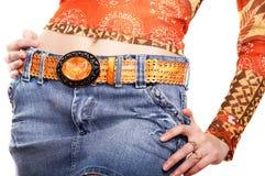 Cintura no fundo branco fotos de stock
