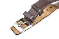 Cinturino del cuoio di Brown Fotografia Stock Libera da Diritti