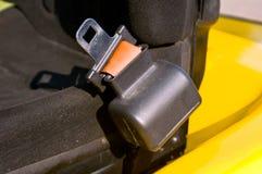 Cinturón de seguridad de una carretilla elevadora Imagen de archivo libre de regalías
