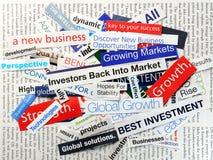 Investors back Royalty Free Stock Photos