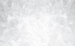 Cinza abstrato do vetor, fundo dos triângulos Imagens de Stock Royalty Free
