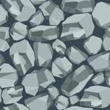 Cinza de pedra do fundo ilustração royalty free
