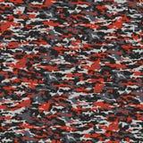 Cinza e camuflagem vermelha Fotografia de Stock Royalty Free