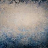 Cinza envelhecido - fundo azul ilustração stock
