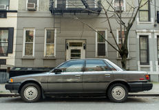 Cinza Toyota Camry 1986-1990 Fotos de Stock