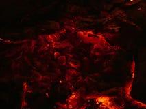 Cinzas encarnados Foto de Stock