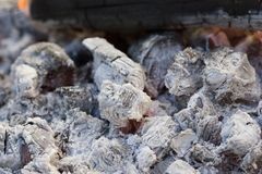 Cinzas quentes imagens de stock royalty free