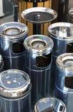 Cinzeiros do lixo Imagens de Stock