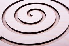 Cinzelado no teste padrão de madeira do fundo Imagem de Stock Royalty Free