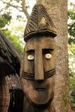 Cinzeladura africana da madeira Fotos de Stock
