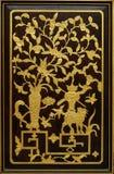 Cinzeladura chinesa da madeira Imagem de Stock