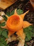 Cinzeladura da flor Fotografia de Stock