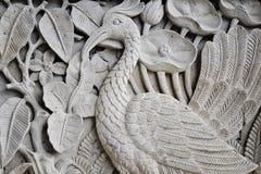 Cinzeladura da pedra do Balinese foto de stock
