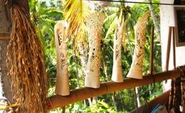 Cinzeladura de marfim Fotografia de Stock