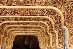 Cinzeladura de Myanmar Imagem de Stock Royalty Free