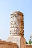 Cinzeladura de pedra Foto de Stock