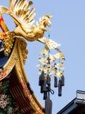 Cinzeladura do flutuador do festival de Takayama foto de stock royalty free