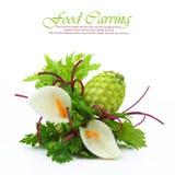 Cinzeladura dos vegetais Imagens de Stock Royalty Free