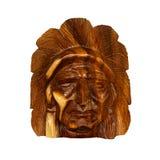 Cinzeladura indiana da madeira Imagens de Stock Royalty Free