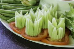 Cinzeladura vegetal Foto de Stock Royalty Free