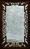 Cinzelando frames de indicador de madeira Fotos de Stock