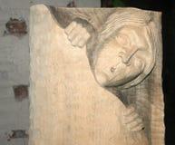 Cinzelando a madeira do od Foto de Stock