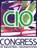 CIO, kongres przemysłowe organizacje Zdjęcie Stock