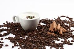 Cioccolata bianca calda Fotografia Stock Libera da Diritti