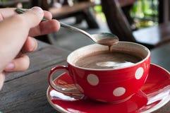 Cioccolata calda Fotografia Stock Libera da Diritti