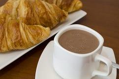 Cioccolata calda Fotografie Stock