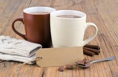 Cioccolata calda fotografia stock