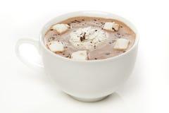 Cioccolata calda gastronomica Fotografia Stock