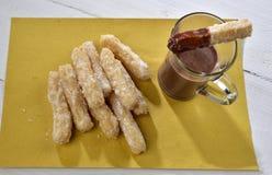 Cioccolata de Churros e Imagenes de archivo