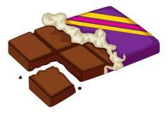 Cioccolato illustrazione di stock