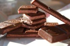 Cioccolato al latte Fotografia Stock Libera da Diritti