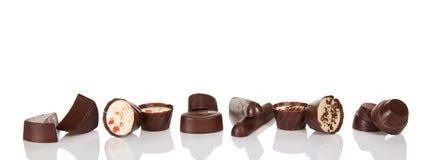 Cioccolato allsorts Fotografia Stock