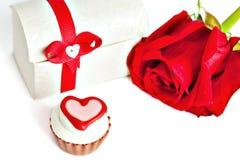 Cioccolato assortito a forma di cuore Fotografie Stock